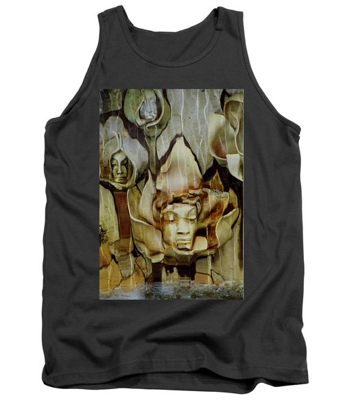 Distortion Tank Top by Penny Lisowski