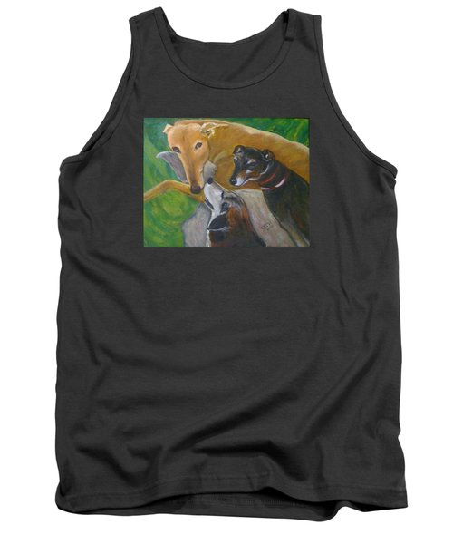 Dogs Resting Tank Top