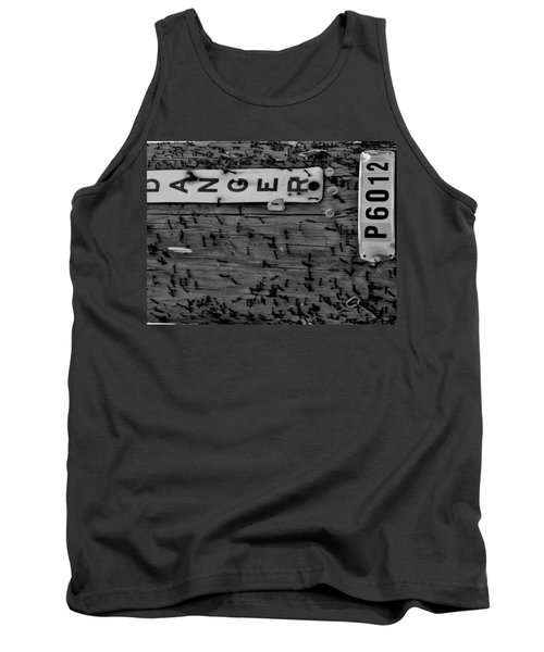 Tank Top featuring the photograph Domestic Abuse by Amar Sheow