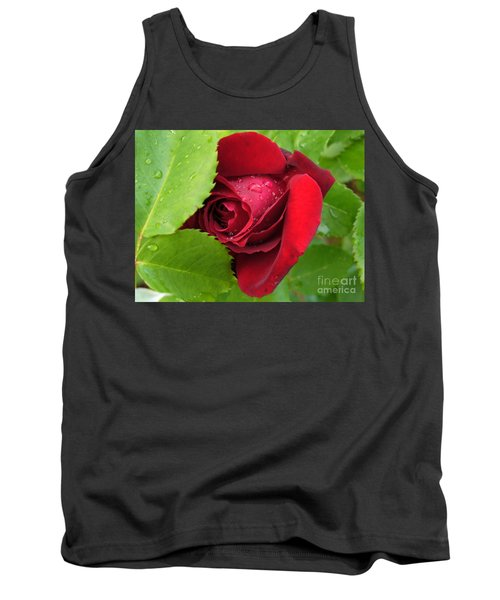 Don't Cry For Me Rosanna Tank Top by Lingfai Leung