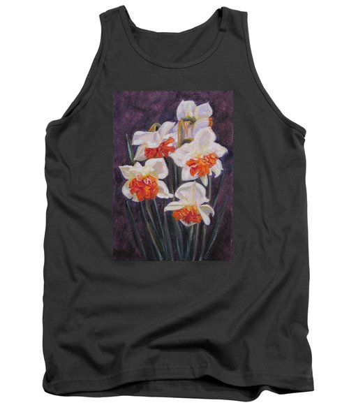 Double Daffodil Replete Tank Top