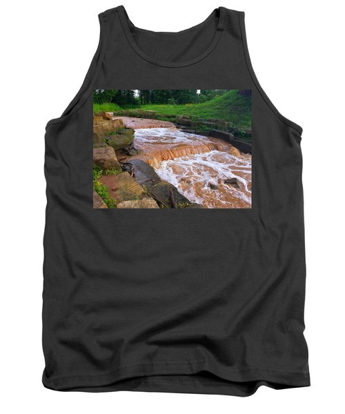 Tank Top featuring the photograph Down A Creek by Chris Tarpening