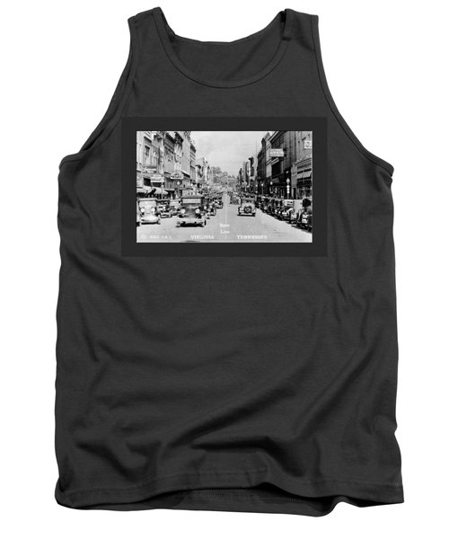 Downtown Bristol Va Tn 1931 Tank Top