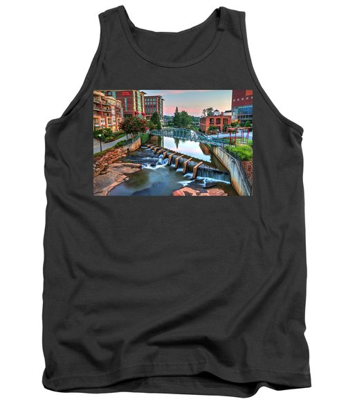 Downtown Greenville On The River Tank Top