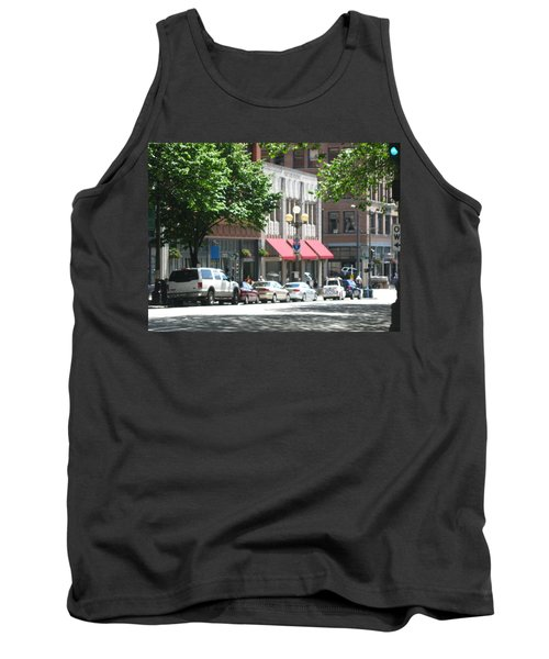 Downtown Neighborhood Tank Top by David Trotter