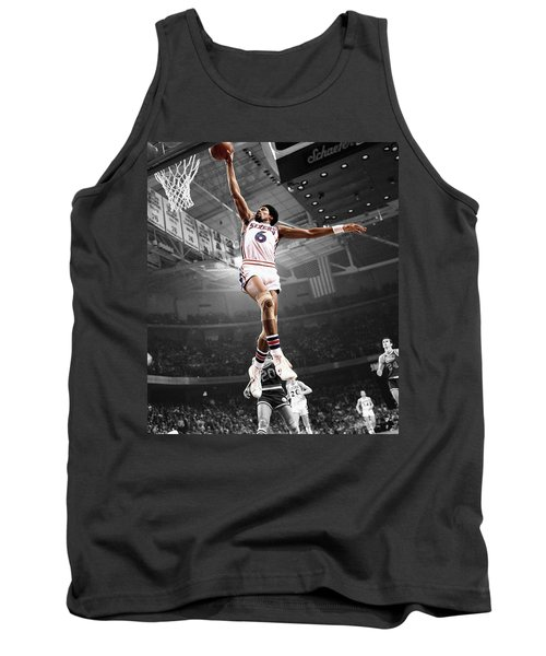 Dr J Tank Top by Brian Reaves