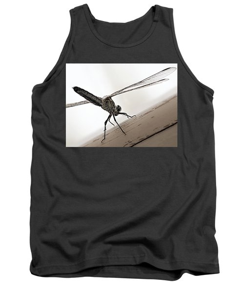 Dragon Of The Air  Tank Top by Micki Findlay