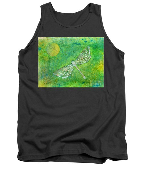 Dragonfly Tank Top by Desiree Paquette