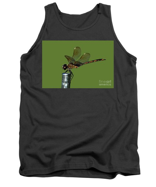 Tank Top featuring the photograph Dragonfly by Meg Rousher