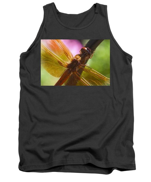 Dragonfly Patterns Tank Top
