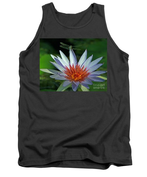 Dragonlily Tank Top by Larry Nieland