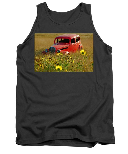 Tank Top featuring the photograph Dream Left Behind by Leticia Latocki