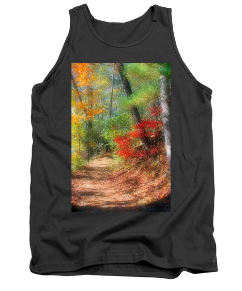 Dreaming Of Fall Tank Top by Kristin Elmquist