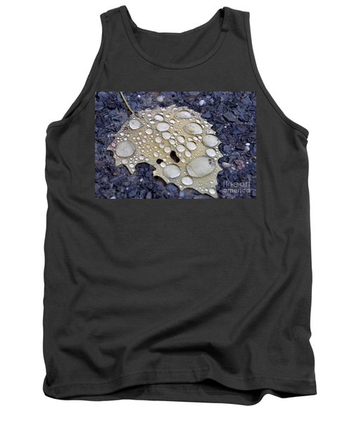 Drenched Leaf Tank Top