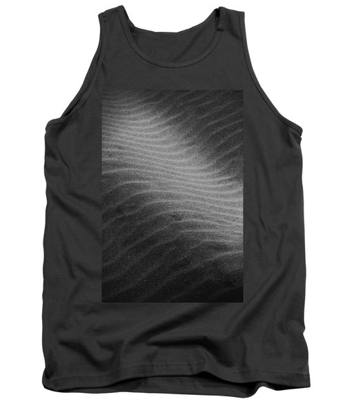 Tank Top featuring the photograph Drifting Sand by Aaron Berg