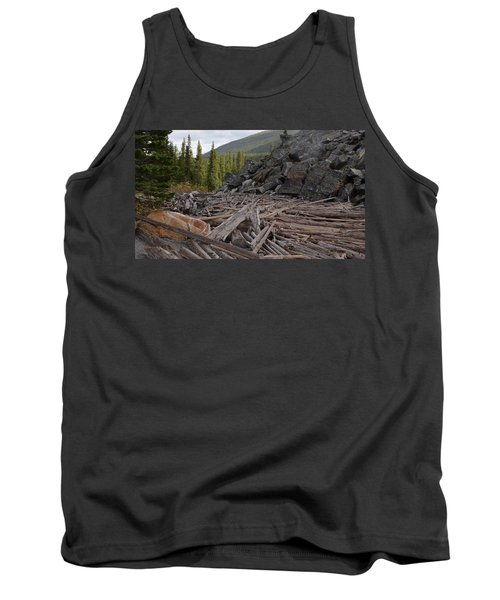 Driftwood And Rock Tank Top