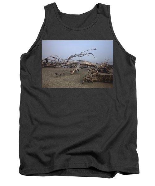 Driftwood Trees On Jekyll Island Tank Top