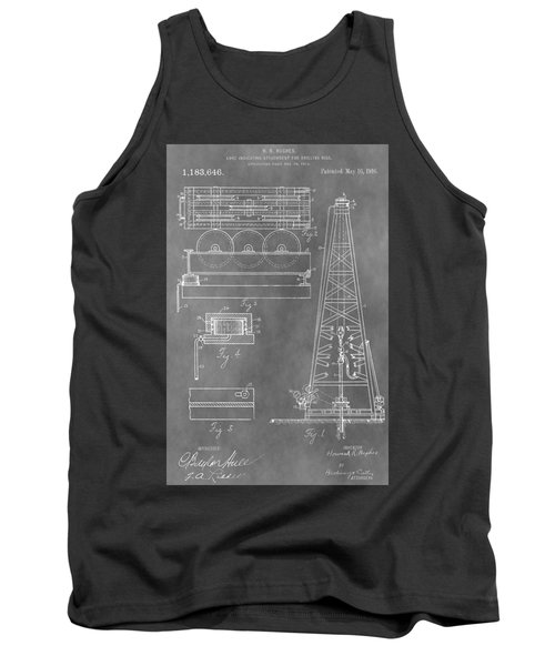 Drilling Rig Patent Tank Top