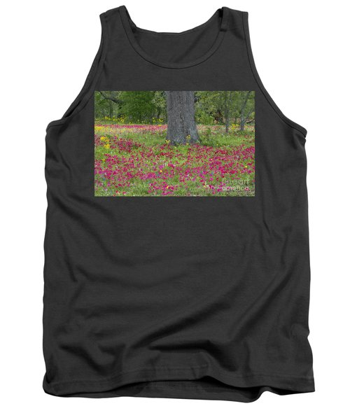 Drummonds Phlox And Crown Tickweed Central Texas Tank Top