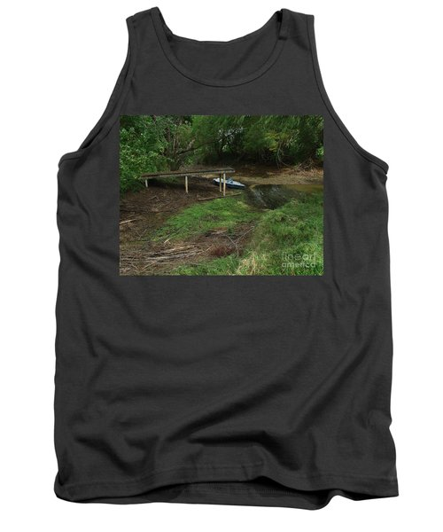 Tank Top featuring the photograph Dry Docked by Peter Piatt