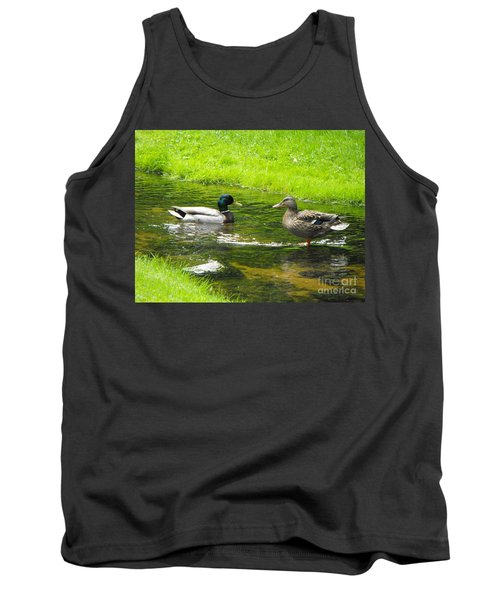 Duck Couple Tank Top