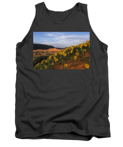 Dunes In Bloom Tank Top
