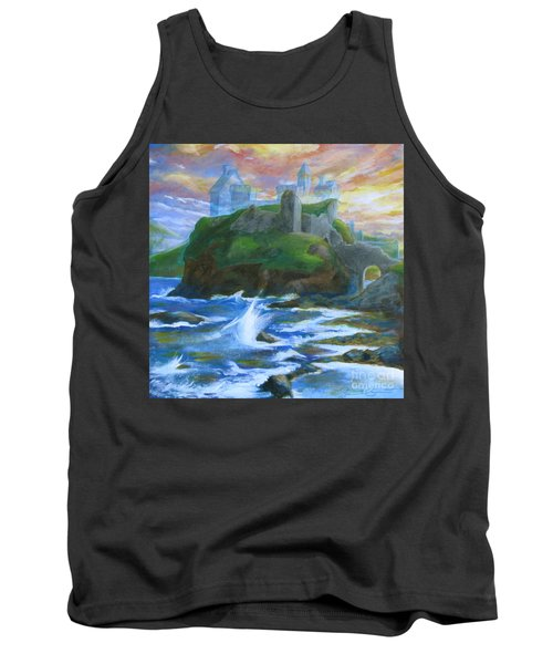 Dunscaith Castle - Shadows Of The Past Tank Top by Samantha Geernaert