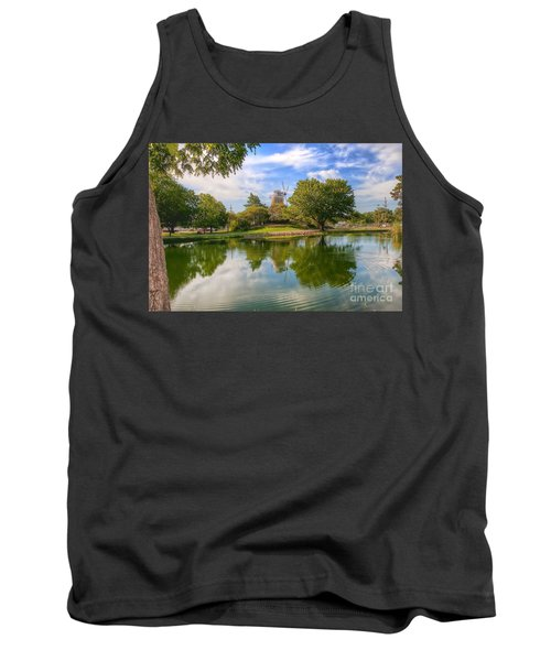 Tank Top featuring the photograph Dutch Mill  by Liane Wright