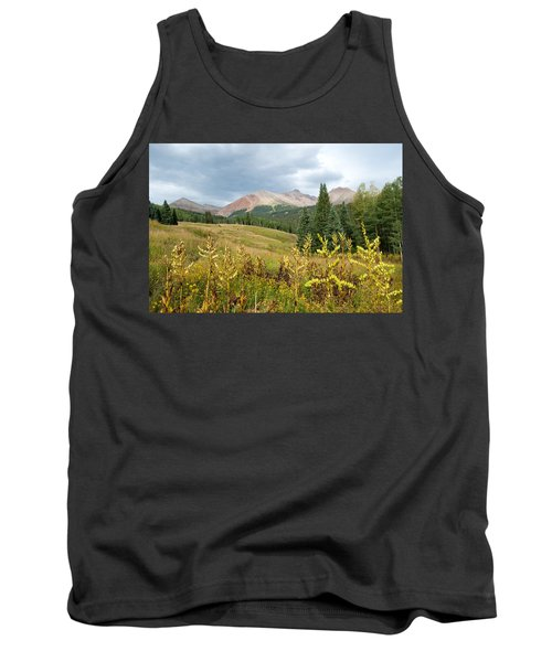 Early Autumn In The San Juans -  Mount Wilson And Wilson Peak Tank Top