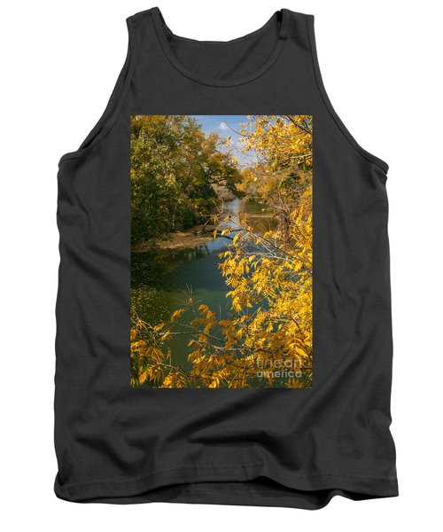 Early Fall On The Navasota Tank Top