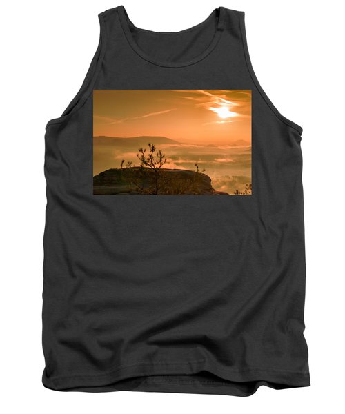 Early Morning On The Lilienstein Tank Top