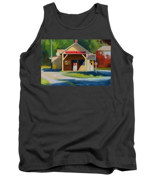 Earlysville Virginia Old Service Station Nostalgia Tank Top