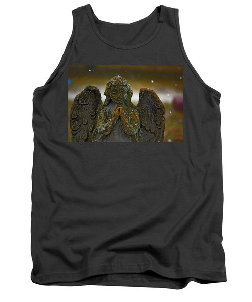 Tank Top featuring the photograph Earth Angel by Rowana Ray