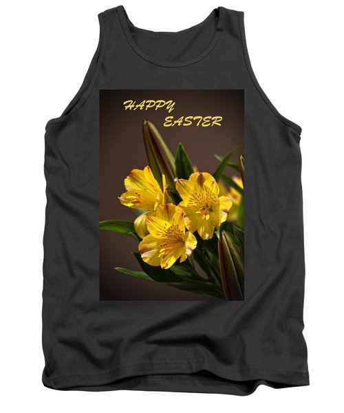 Easter Lilies Tank Top by Sandi OReilly