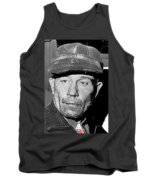 Ed Gein The Ghoul Who Inspired Psycho Plainfield Wisconsin C.1957-2013 Tank Top
