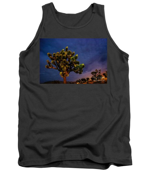 Tank Top featuring the photograph Edge Of Town by Angela J Wright