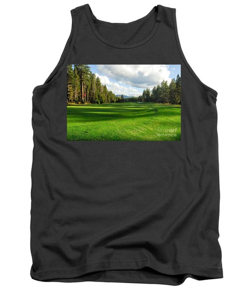 Edgewood Green Tank Top