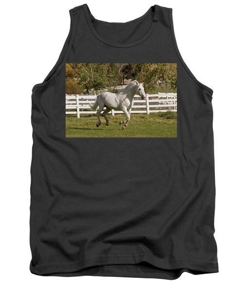 Tank Top featuring the photograph Effortless Gait D3028 by Wes and Dotty Weber