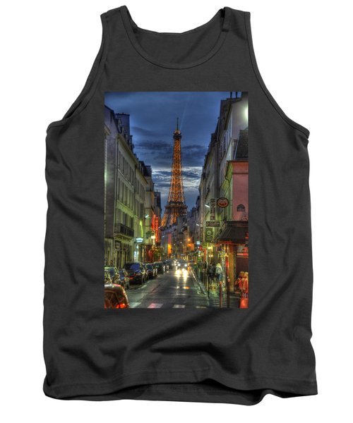 Eiffel Over Paris Tank Top