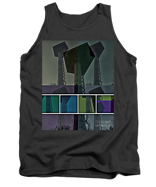 Tank Top featuring the photograph Elastic Concrete Part One by Sir Josef - Social Critic - ART