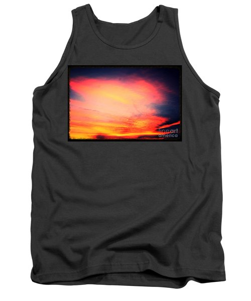 Electric Angel Playing A Harp In The Sky  Tank Top by Kimberlee Baxter