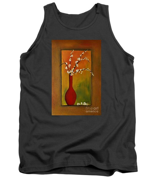 Elegant Bouquet Tank Top