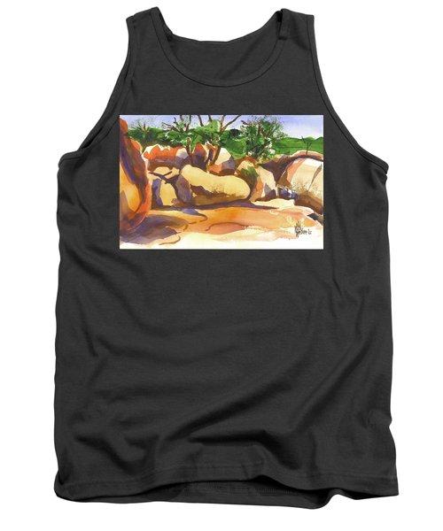 Elephant Rocks Revisited I Tank Top