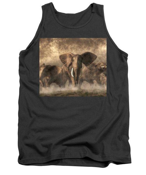 Elephant Stampede Tank Top