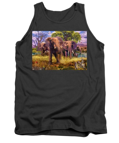 Elephants Tank Top
