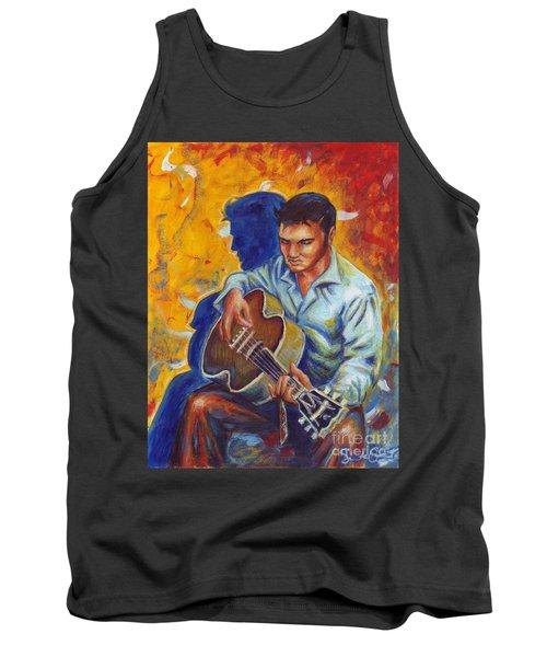 Elvis Presley- Shadow Duet Tank Top