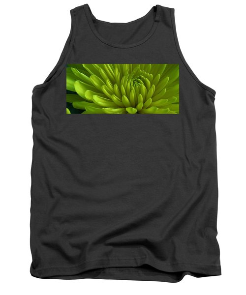 Emerald Dahlia Tank Top by Bruce Bley