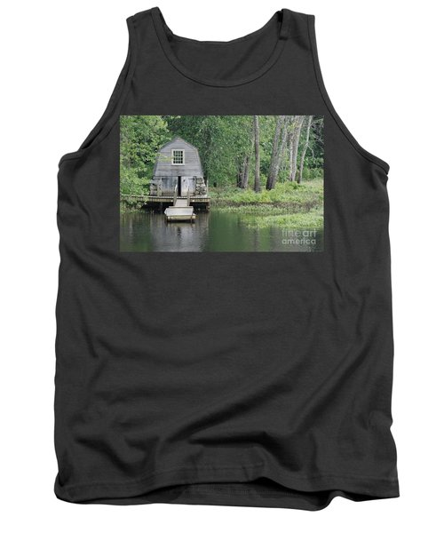 Emerson Boathouse Concord Massachusetts Tank Top by Amy Porter