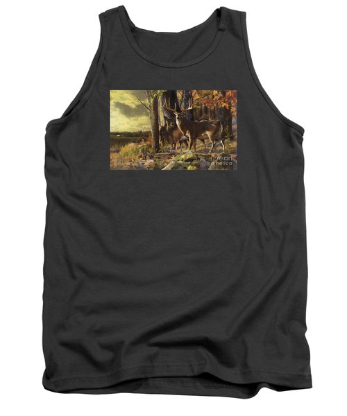 Eminence At The Forest Edge Tank Top by Rob Corsetti