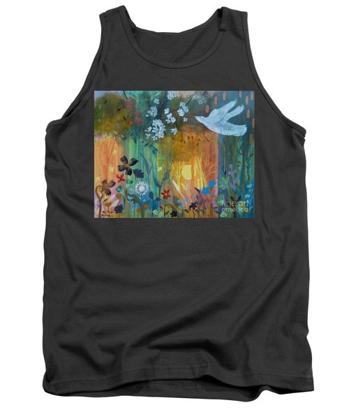 Tank Top featuring the painting Encantador by Robin Maria Pedrero